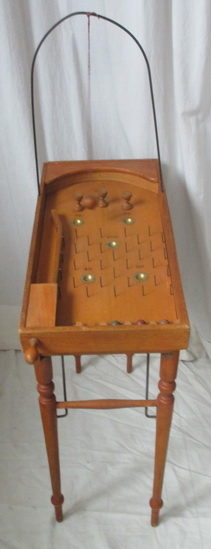 antique pinball game for children